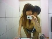หลุดถ่ายกันเองแฟนแบล็คเมล์คลิปตอนเย็ดกันในห้องน้ำ CLIP NISIT ไม่รู้จะทำไมหน้าชัดๆ