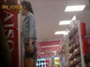 หลุดคลิบแอบถ่ายกางเกงในก้นใหญ่สาวจีนไส่สั้น คนอื่นผ่านยังมอง อยากลากเข้ามาเย็ดที่บ้าน โดนถ่ายกกน.ไปสิ