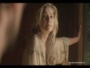 หลุดดาราฮอลลีวู้ด Rosamund Pike หนังดังขนโรง ฉาก Sex Scene จับกระทุ้งหีซอยจนล้มเย็ดจนเสียความซิง