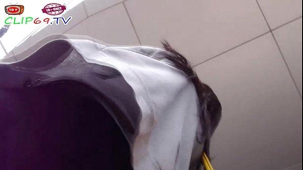 ย่องเบาแอบถ่ายใต้กระโปรง นิสิตนักศึกษาไทยแท้ๆ มหาลัยจุฬา เด็กแว่นกางเกงในชมพู